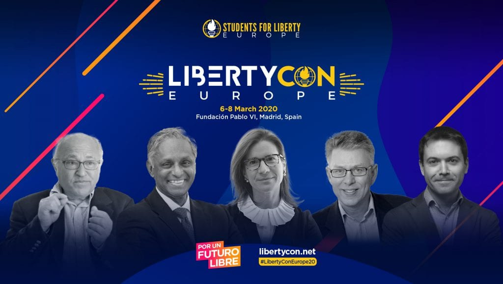 5 Speakers You Don't Want to Miss at LibertyCon Europe 2020